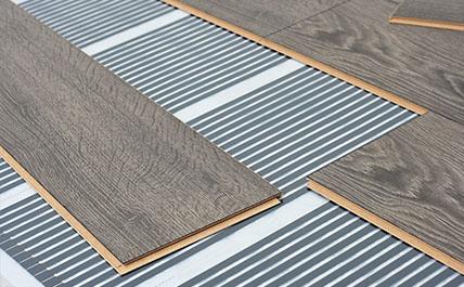 Installation de plancher chauffant électrique en Montérégie - Les Entreprises d'Électricité R.B.M Inc. sur la Rive-Sud